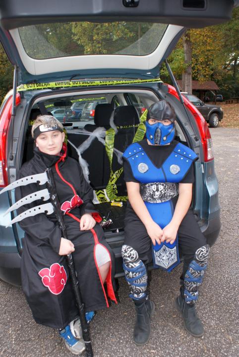 Halloween 2014, Trunk or Treat!
