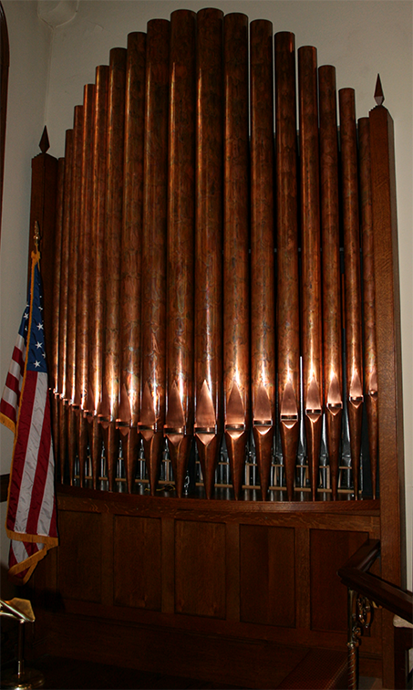 Zimmer Organ pipes