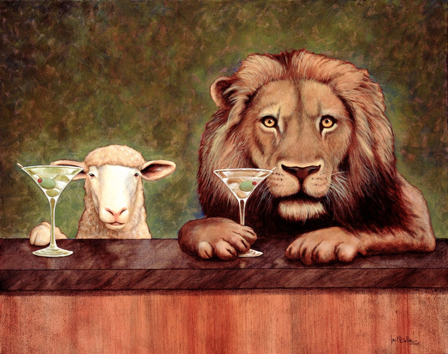 The Advent - Grace Episcopal Church Anderson for Lion And Lamb Painting  10lpwja
