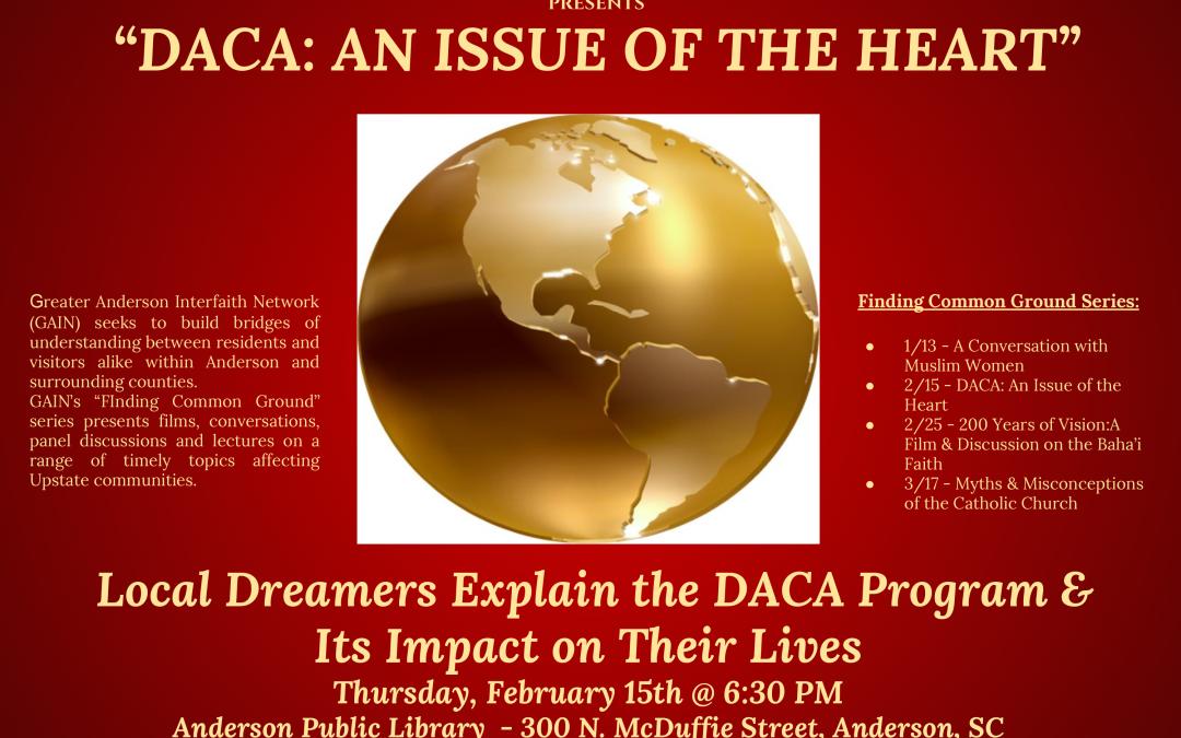 DACA — Anderson Interfaith Ministries